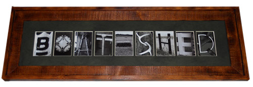 Alphabet Country - Alphabet Art Letters and Frames